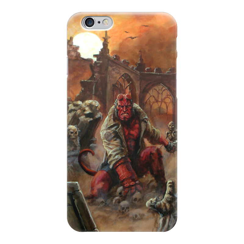 Чехол для iPhone 6 глянцевый Printio Хеллбой чехол для iphone 5 глянцевый с полной запечаткой printio hellboy хеллбой