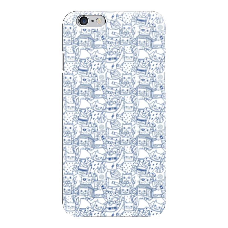 Чехол для iPhone 6 глянцевый Printio Котики