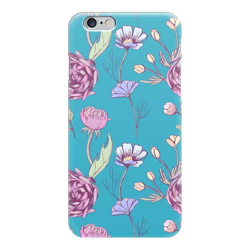 Чехол для iPhone 6 глянцевый Printio Цветочное настроение