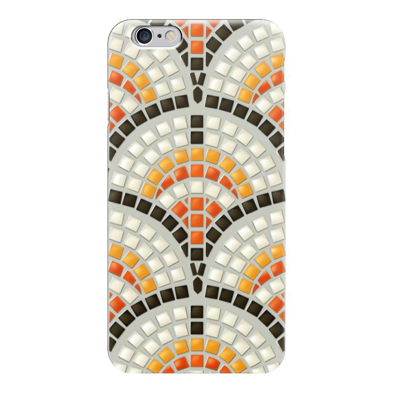 Чехол для iPhone 6 глянцевый Printio Античная мозаика мозаика elada mosaic jsm jb068 327x327x8 мм античная жатая