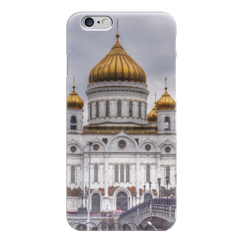 Чехол для iPhone 6 глянцевый Printio Храм, москва iphone китайский недорого г москва