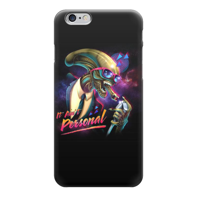 Чехол для iPhone 6 глянцевый Printio Alien / чужой