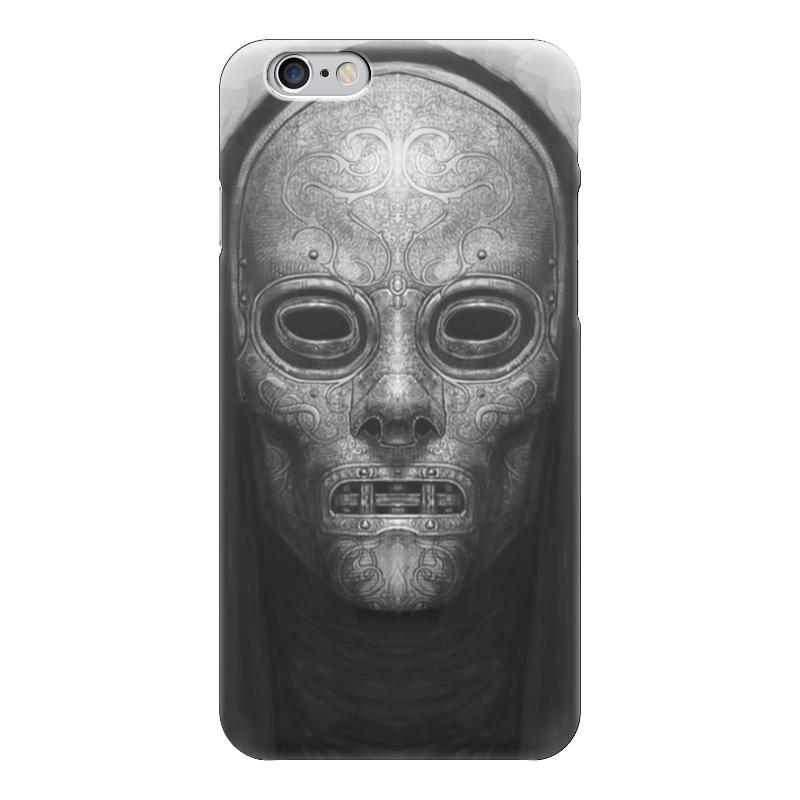 Чехол для iPhone 6 глянцевый Printio Mask 472 купить чехол для айфона 4 с камнями