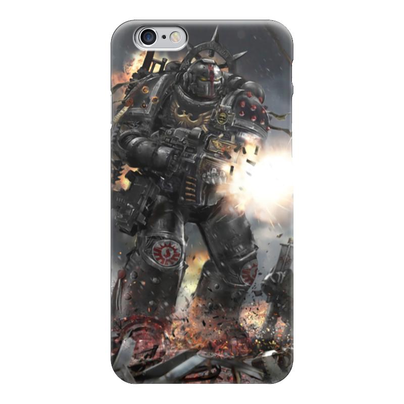 Чехол для iPhone 6 глянцевый Printio Warhammer 40k warhammer 40 000 miniatures build paint – space ork blastabike