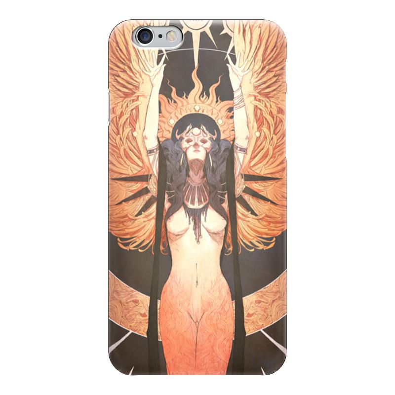 Чехол для iPhone 6 глянцевый Printio Ангел ночи ночи в роданте