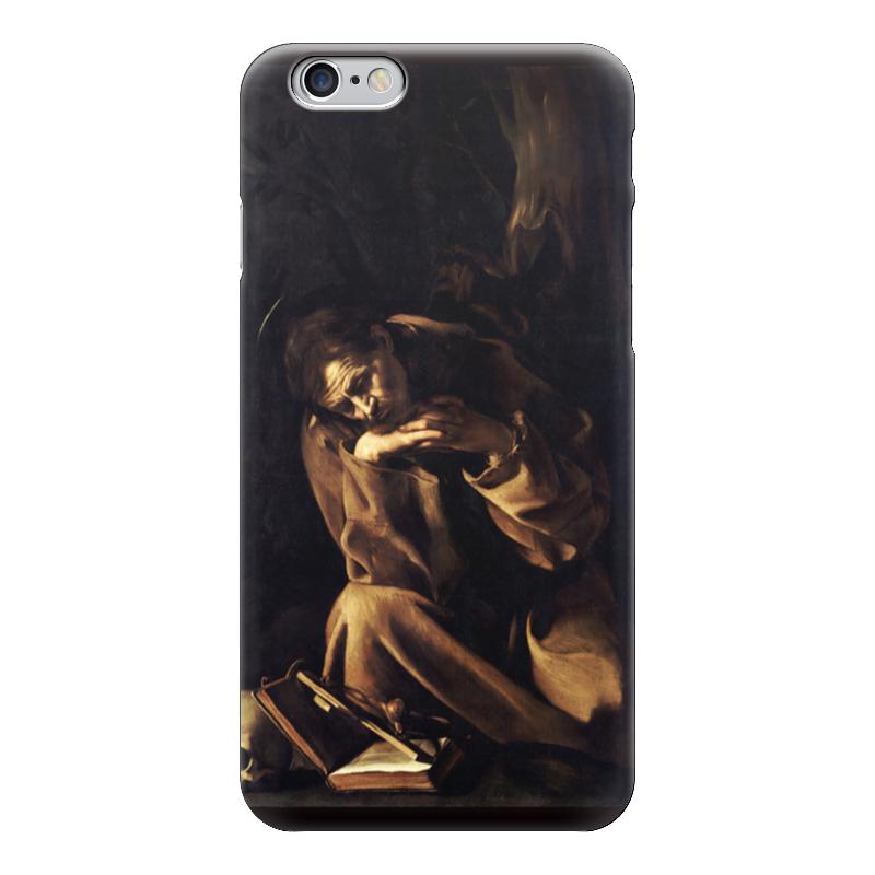 Чехол для iPhone 6 глянцевый Printio Святой франциск в размышлении (караваджо) караваджо