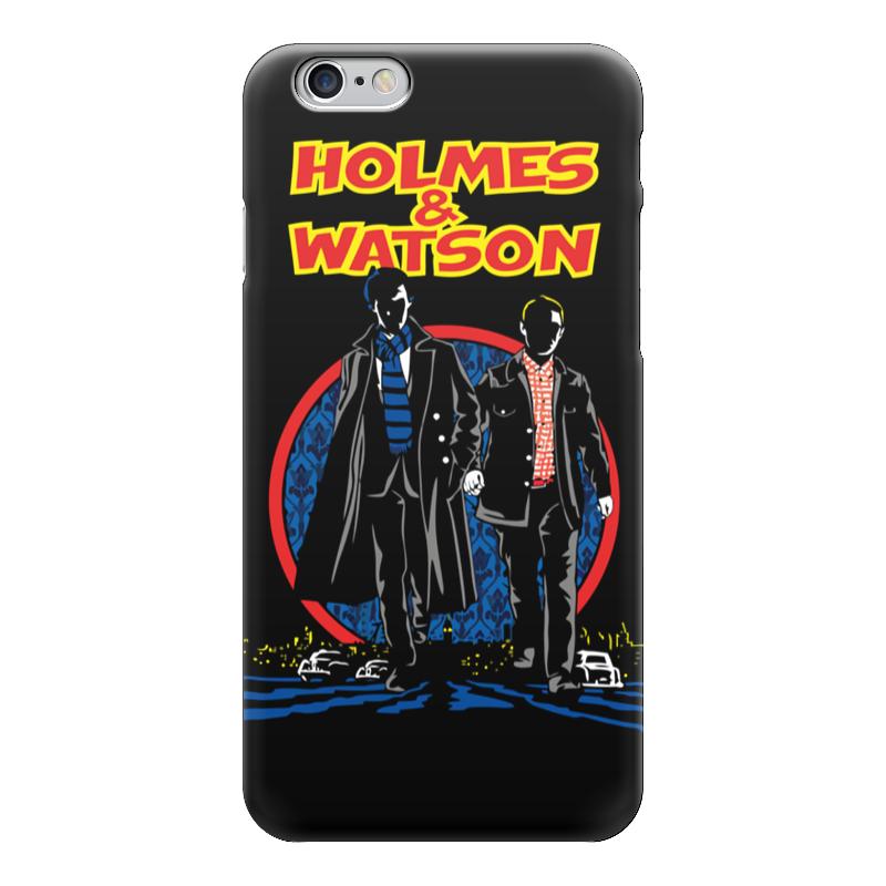Чехол для iPhone 6 глянцевый Printio Holmes & watson (шерлок холмс)