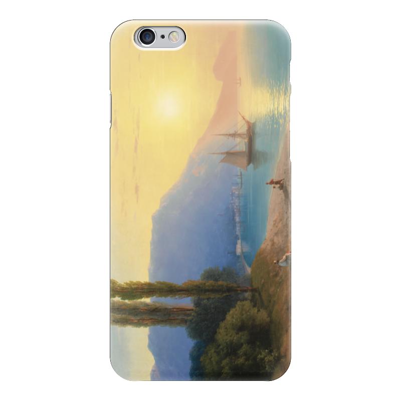 Чехол для iPhone 6 глянцевый Printio Закат в ялте (айвазовский) куплю квартиру в ялте евпотории