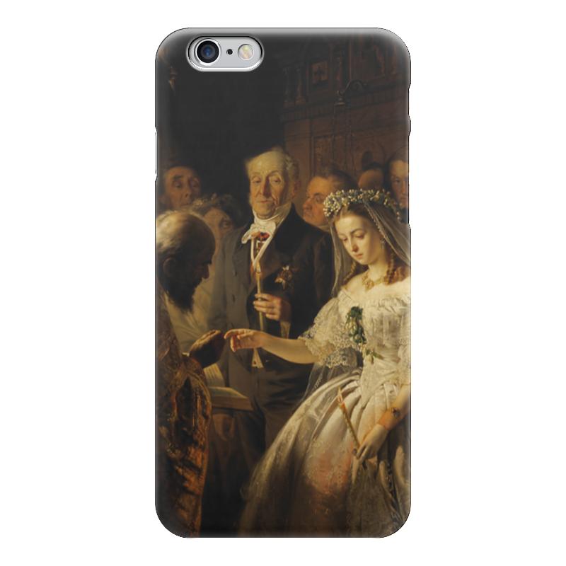 Чехол для iPhone 6 глянцевый Printio Неравный брак (картина василия пикурева) берсенева а неравный брак