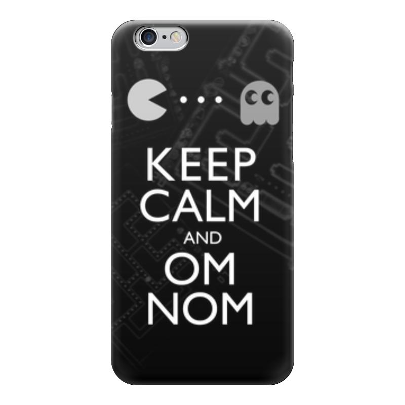Чехол для iPhone 6 глянцевый Printio Pac man