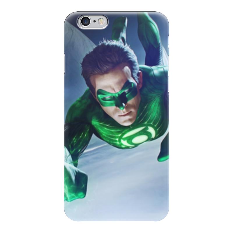 Чехол для iPhone 6 глянцевый Printio Зеленый фонарь налобный фонарь sunree l40 ipx8 4led