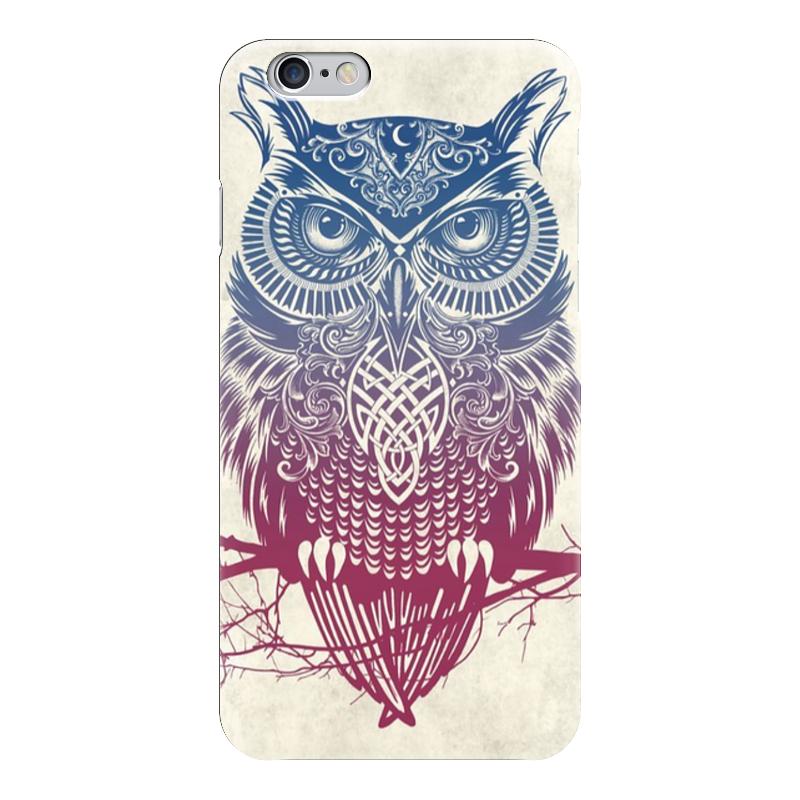 Чехол для iPhone 6 глянцевый Printio Owl ( сова ) чехол для iphone 6 глянцевый printio сад на улице корто сад на монмартре ренуар
