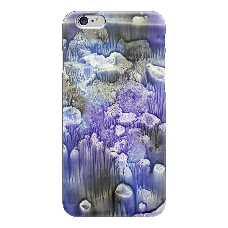 Чехол для iPhone 6 глянцевый Printio Акварелька стоимость