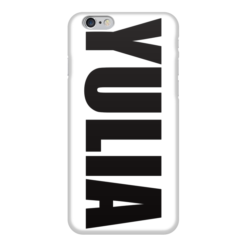 Чехол для iPhone 6 глянцевый Printio С именем юлия чехол для iphone 6 глянцевый printio fatgamy iphone 6