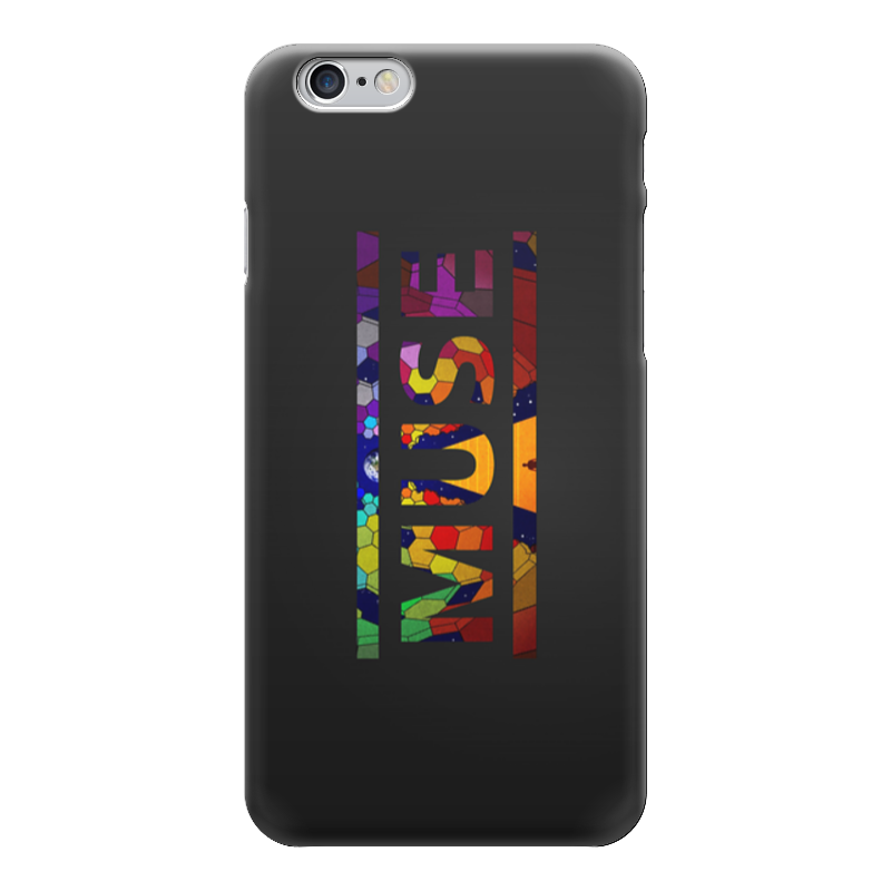 Чехол для iPhone 6 глянцевый Printio Muse (rock) блокнот printio muse