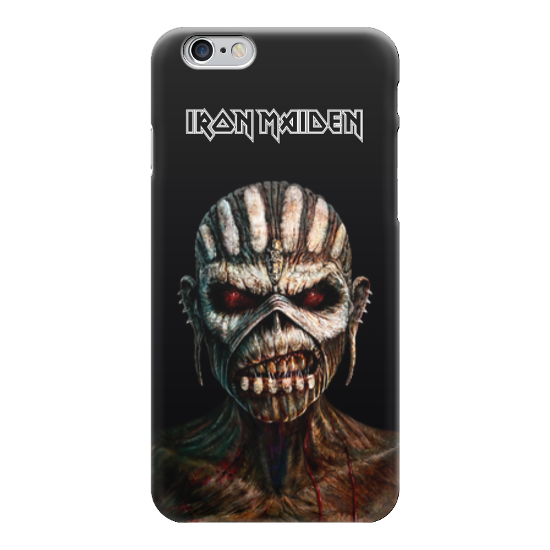 Чехол для iPhone 6 глянцевый Printio Iron maiden book of souls riggs r library of souls