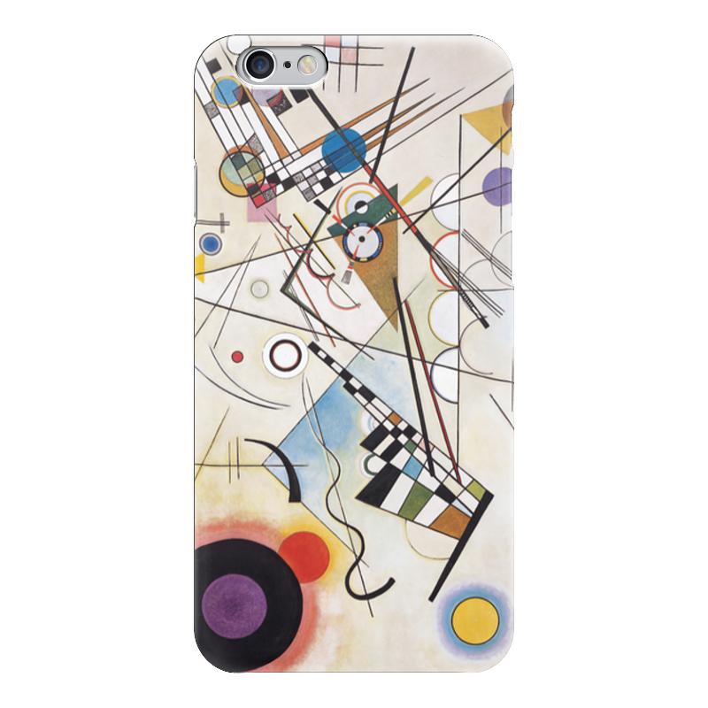 Чехол для iPhone 6 глянцевый Printio Композиция viii (василий кандинский) торт printio points василий кандинский