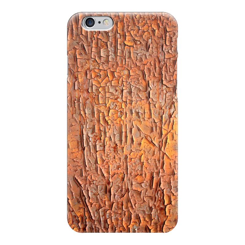 Чехол для iPhone 6 глянцевый Printio Старая краска старая карта села работки