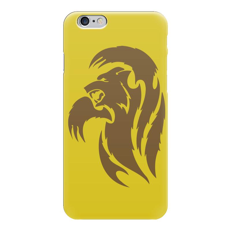 Чехол для iPhone 6 глянцевый Printio Медведь лапы вверх cdmp3