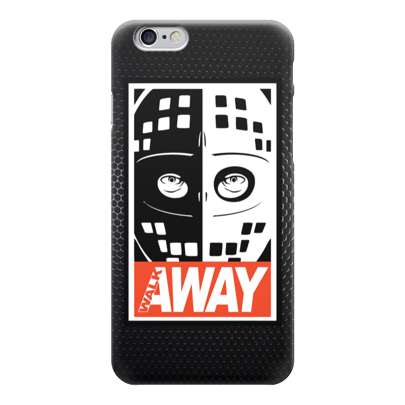 Чехол для iPhone 6 глянцевый Printio Walk away (mad max) walk of shame пиджак