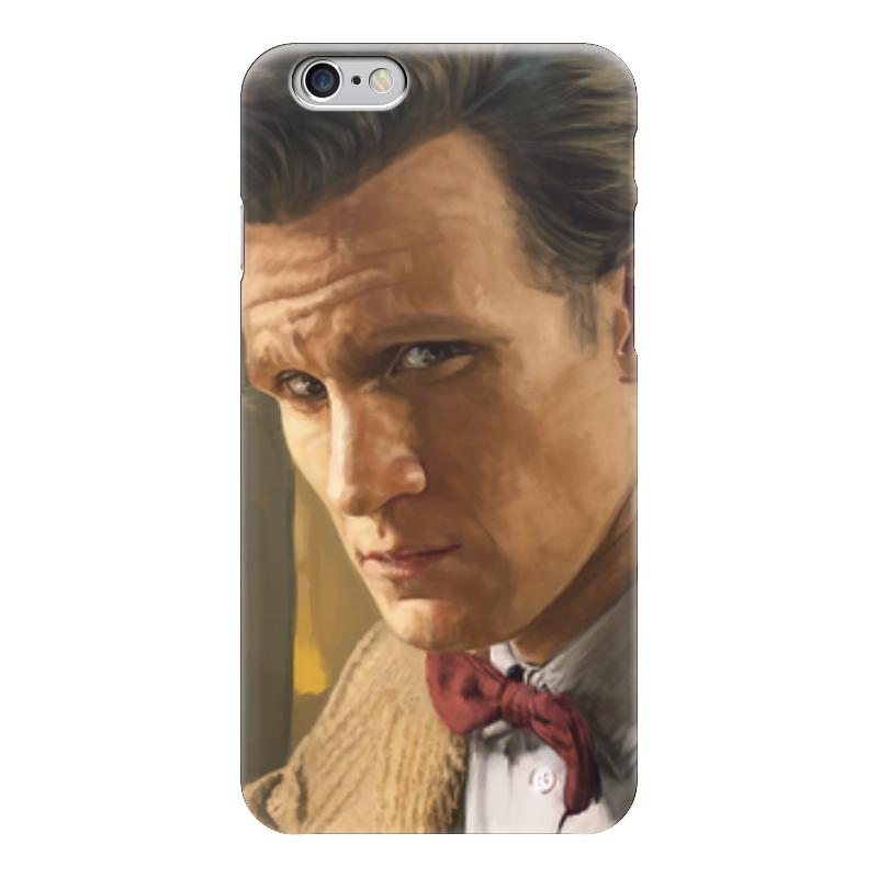 Чехол для iPhone 6 глянцевый Printio Доктор кто (doctor who) футболка рингер printio доктор кто doctor who