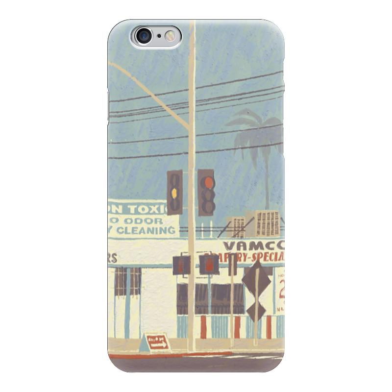 Чехол для iPhone 6 глянцевый Printio Город