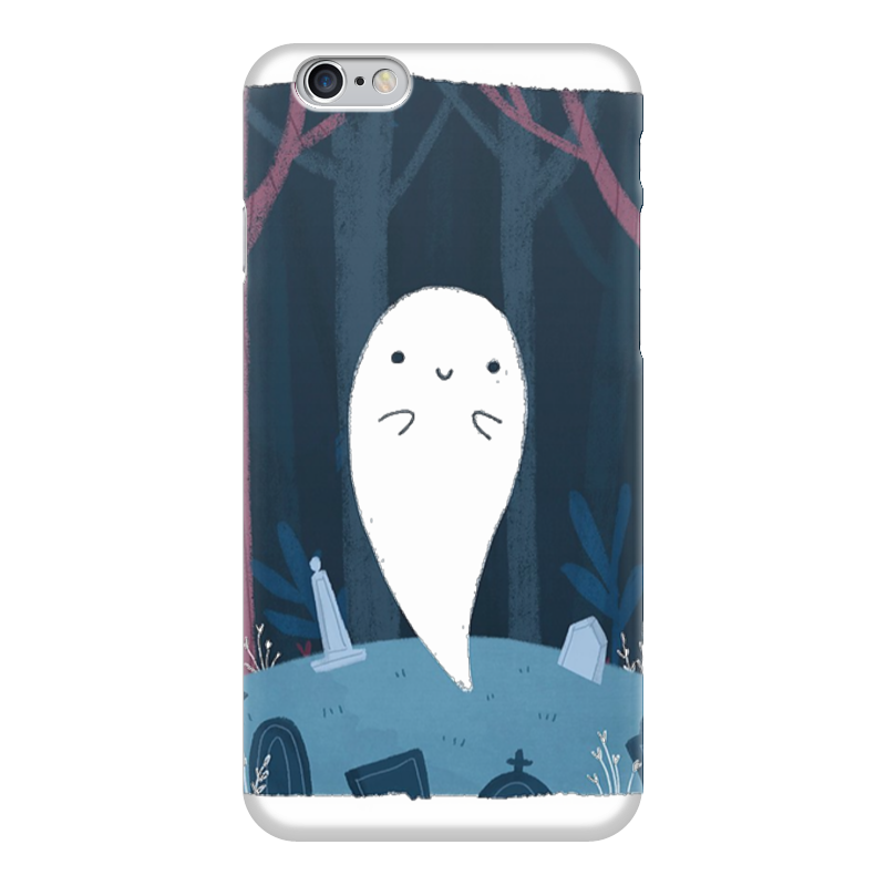 Чехол для iPhone 6 глянцевый Printio Приведение 66 купить чехол для айфона 4 с камнями