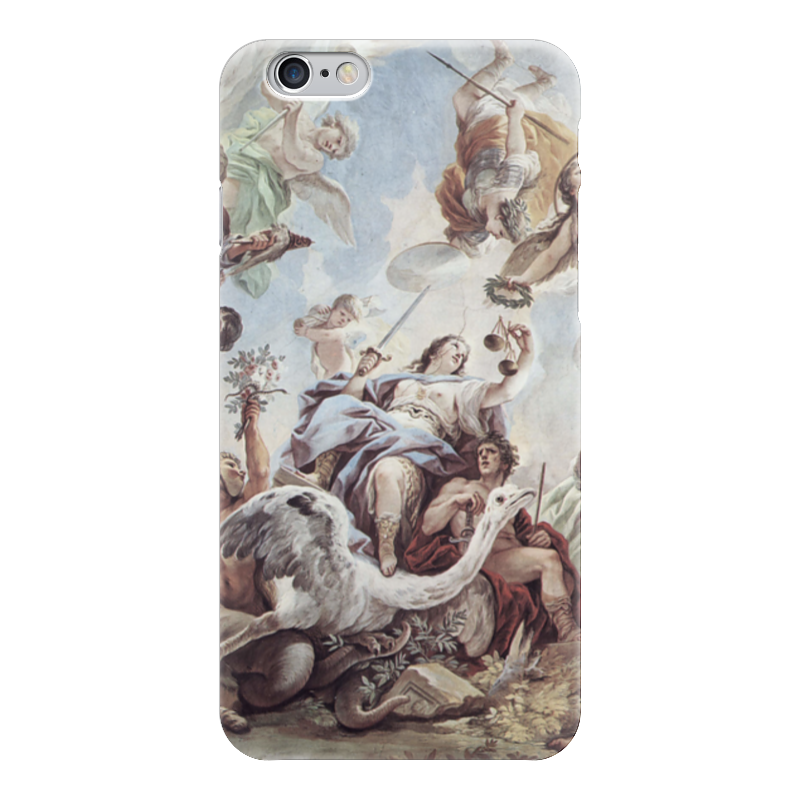 Чехол для iPhone 6 глянцевый Printio Правосудие (лука джордано)