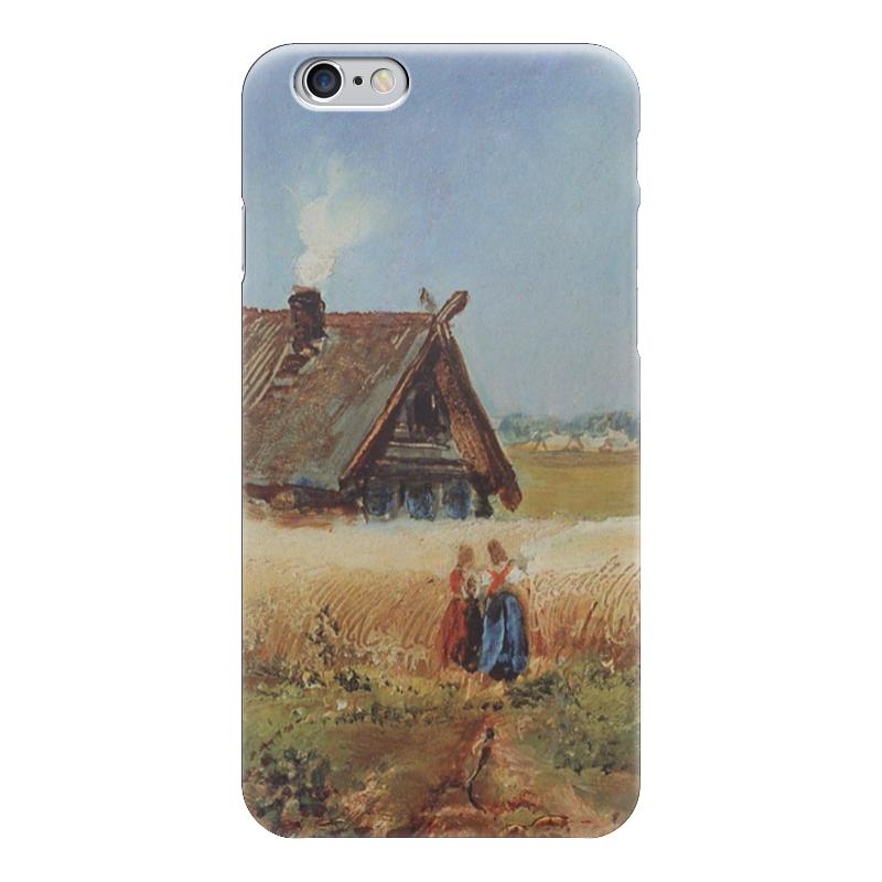 Чехол для iPhone 6 глянцевый Printio Кутузовская изба