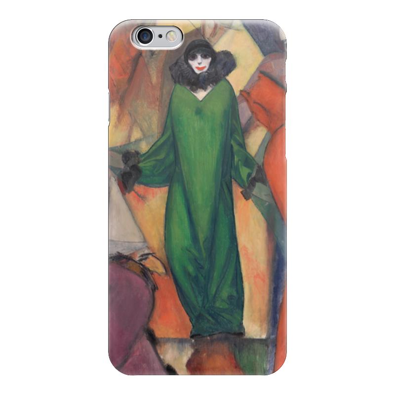 Чехол для iPhone 6 глянцевый Printio Зеленое домино (альберт блох) альберт байкалов проклятие изгнанных