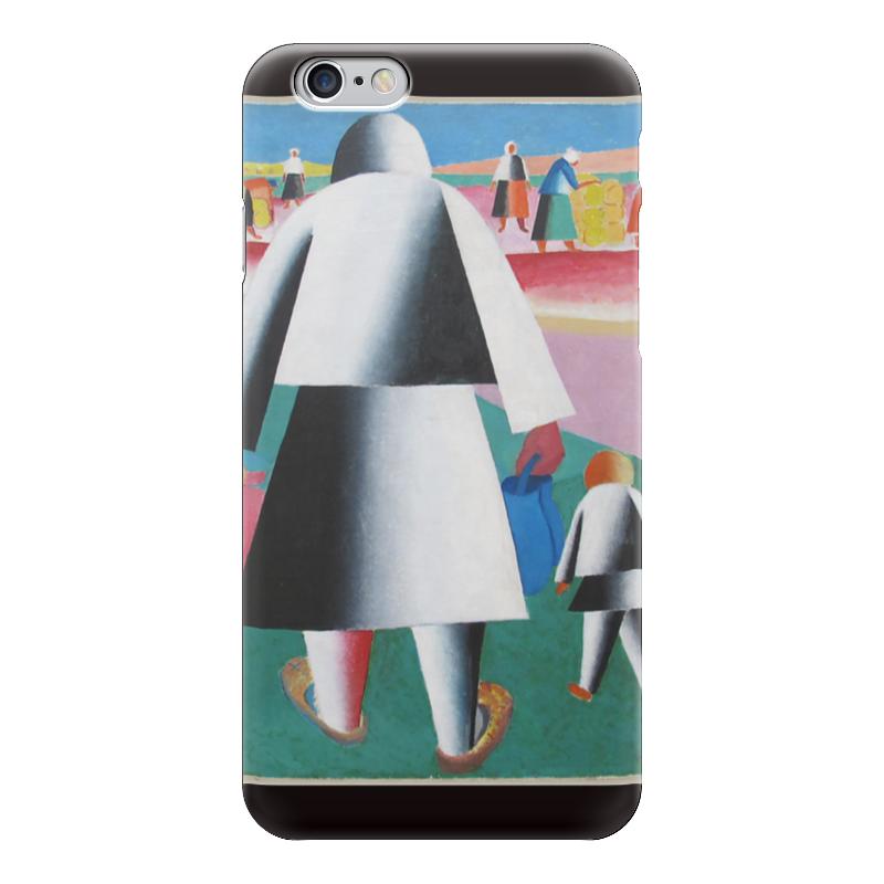 Чехол для iPhone 6 глянцевый Printio На жатву (марфа и ванька) (казимир малевич)