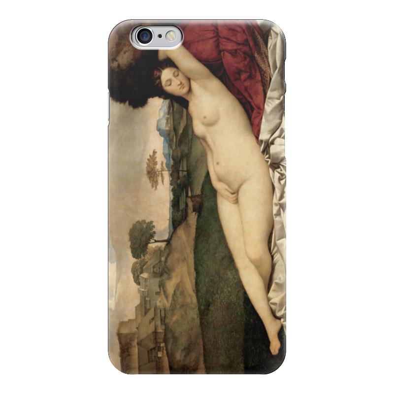 Чехол для iPhone 6 глянцевый Printio Спящая венера (джорджоне) чехол для iphone 6 глянцевый printio спящая красавица сказка