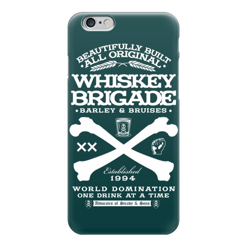 Чехол для iPhone 6 глянцевый Printio Whiskey brigade leaving whiskey bend