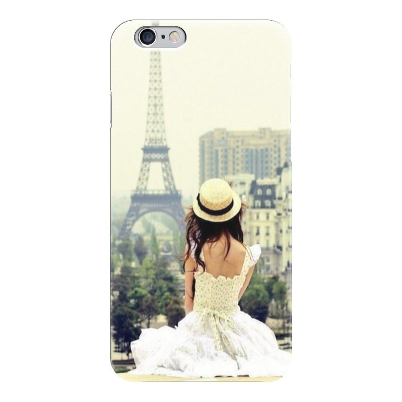 Чехол для iPhone 6 глянцевый Printio Paris чехол для вейкборда в москве