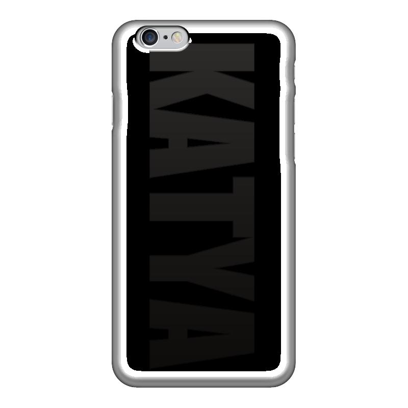 Чехол для iPhone 6 глянцевый Printio С именем катя чехол для iphone 6 глянцевый printio с именем алла