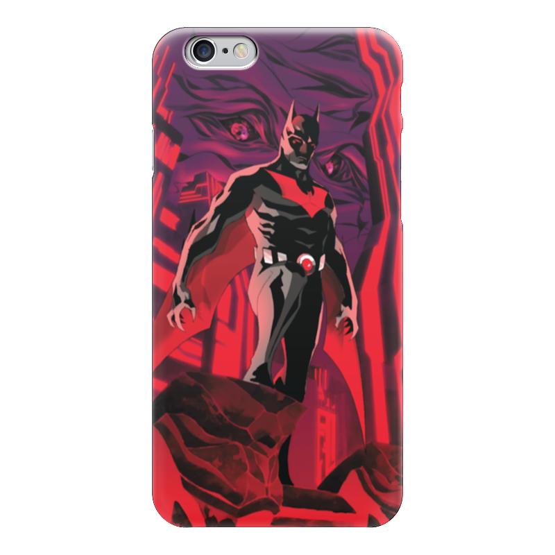 Чехол для iPhone 6 глянцевый Printio Batman beyond / бэтмен будущего batman beyond hush beyond