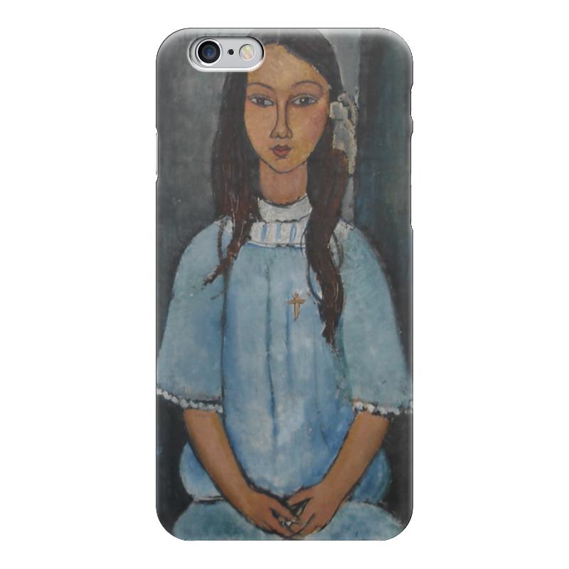 цена Чехол для iPhone 6 глянцевый Printio Алиса  (амедео модильяни) онлайн в 2017 году
