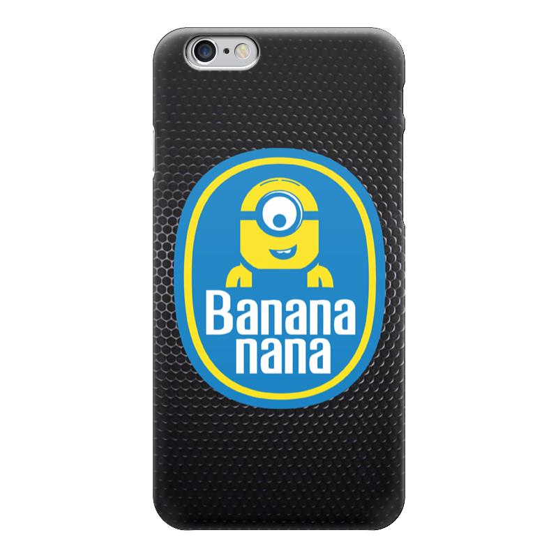 Чехол для iPhone 6 глянцевый Printio Banana minion чехол для iphone 6 глянцевый printio миньон с бананом гадкий я