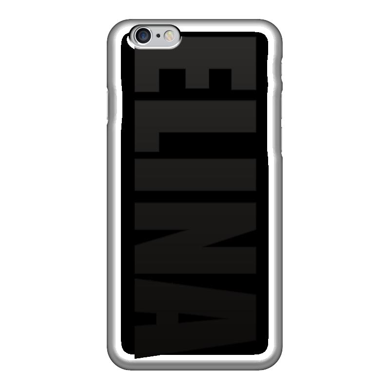 Чехол для iPhone 6 глянцевый Printio С именем элина чехол для iphone 6 глянцевый printio с именем алла