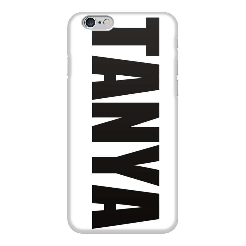 Чехол для iPhone 6 глянцевый Printio С именем таня чехол для iphone 6 глянцевый printio fatgamy iphone 6