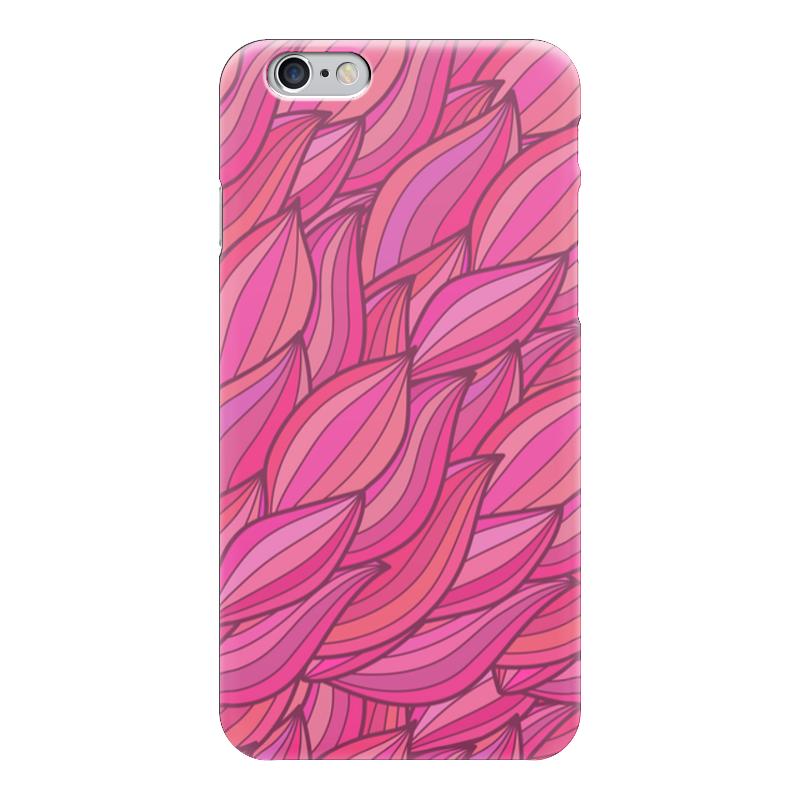 Чехол для iPhone 6 глянцевый Printio Розовая абстракция чехол для iphone 6 глянцевый printio сад на улице корто сад на монмартре ренуар