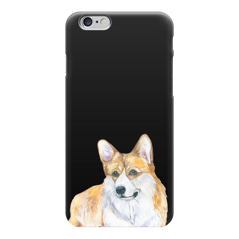 Чехол для iPhone 6 глянцевый Printio Красавчик вельш корги купить щенков вельш в ижевске