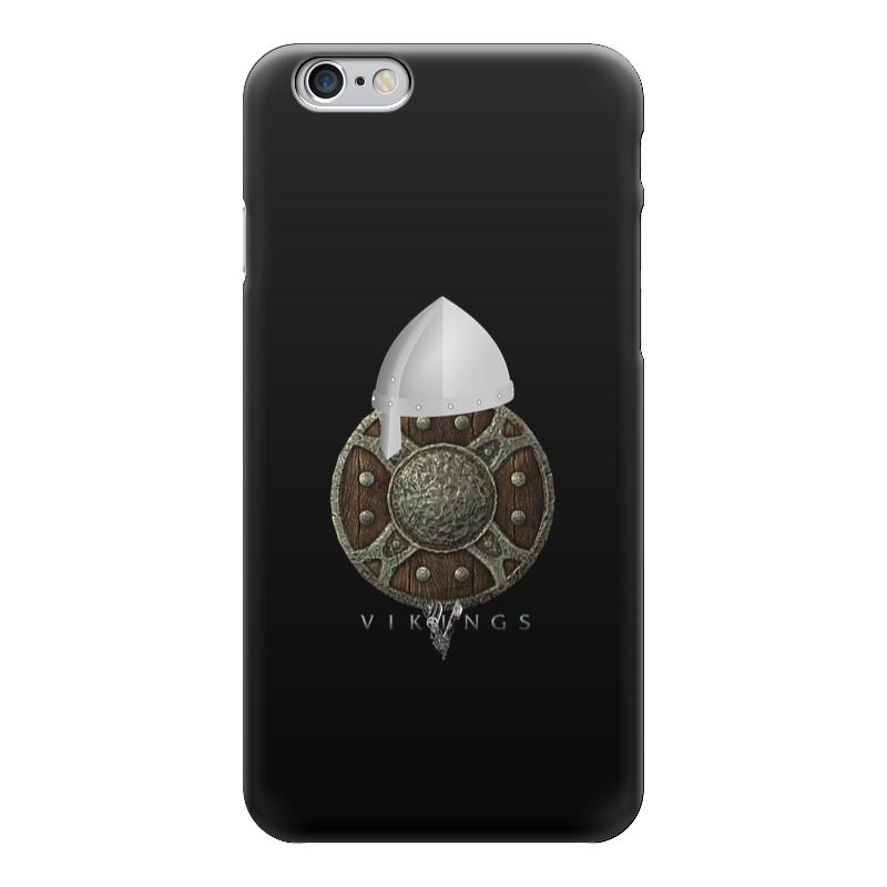 Чехол для iPhone 6 глянцевый Printio Викинги. vikings