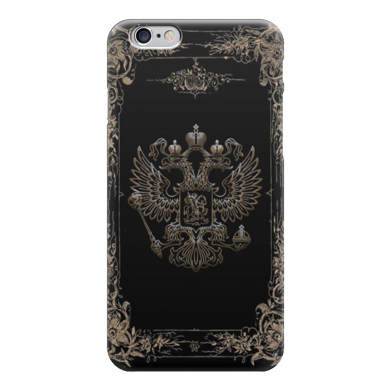 Чехол для iPhone 6 глянцевый Printio Герб россии какой iphone лучше для россии
