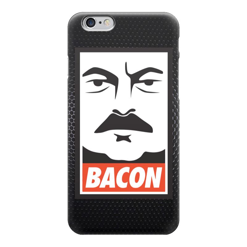 Чехол для iPhone 6 глянцевый Printio Ron swanson (bacon) peter swanson mõrva väärt