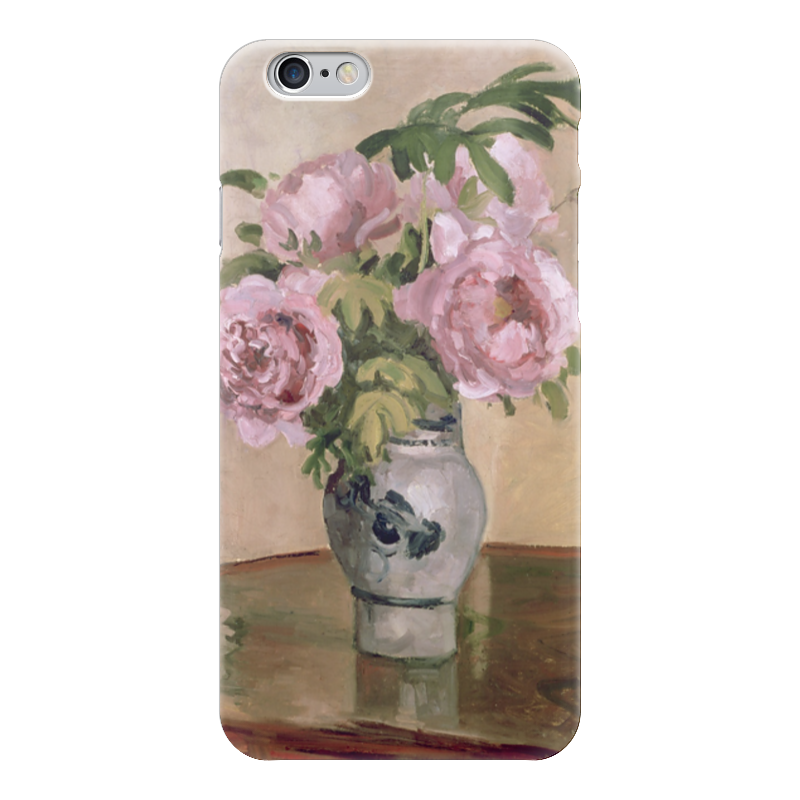 Чехол для iPhone 6 глянцевый Printio Розовые пионы чехол для iphone 6 глянцевый printio розовые сердечки