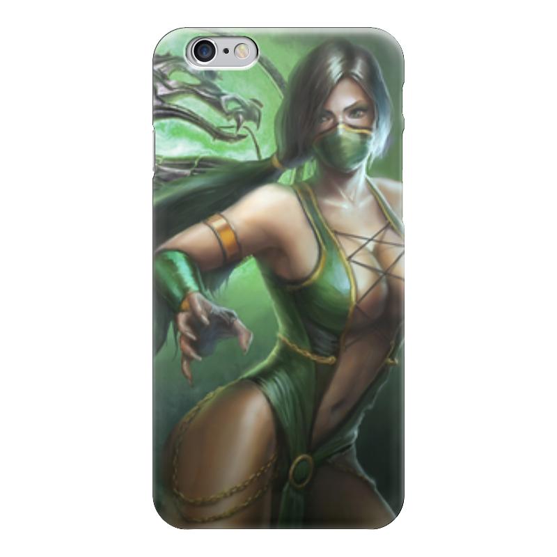 Чехол для iPhone 6 глянцевый Printio Джейд (мортал комбат) костюм горку 3 в н тагиле магазин комбат