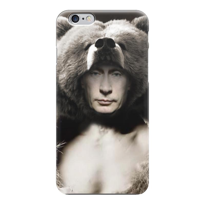 Чехол для iPhone 6 глянцевый Printio Путин чехол для iphone 6 глянцевый printio красавица и чудовище