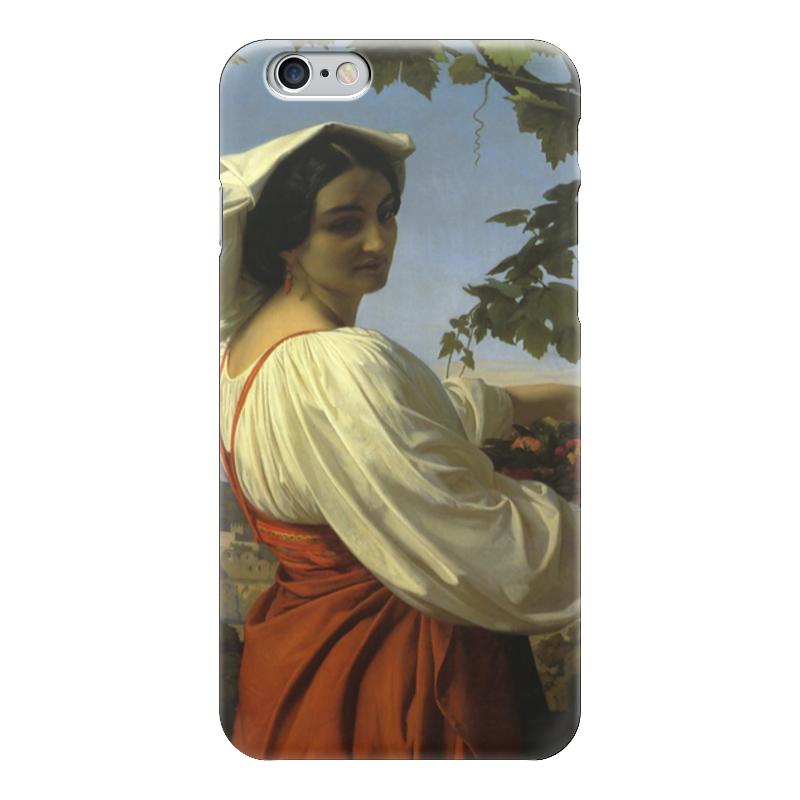 Чехол для iPhone 6 глянцевый Printio Портрет итальянки (la chiarrucia) чехол для iphone 6 глянцевый printio портрет актрисы жанны самари ренуар