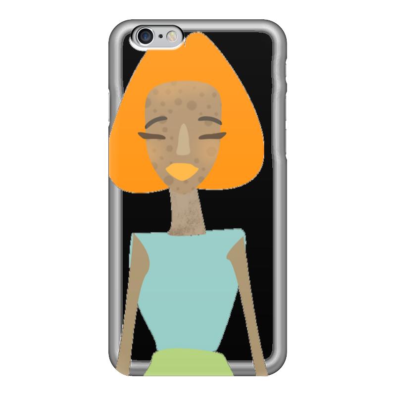 Чехол для iPhone 6 глянцевый Printio Summergirl чехол для iphone 5 глянцевый с полной запечаткой printio ember spirit dota 2